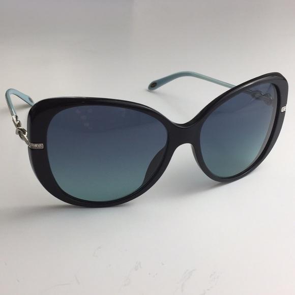 0fb5853b308d6 Tiffany   Co Sunglasses Havana Blue Black TF4126B